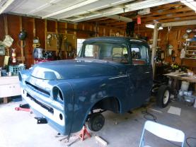 1957 Dodge (under restoration)