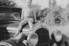 Feb/Mar 2019 - Cousin Clinton on the 1925 Chrysler